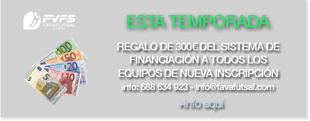 REGALO DE 300€ DEL SISTEMA DE FINANCIACIÓN